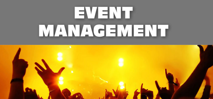 Event management, event marketing
