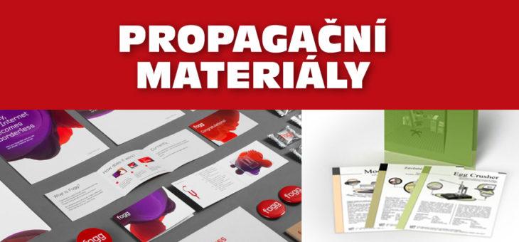 Propagační materiály a tiskoviny