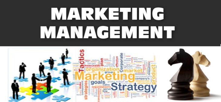 Marketing management – marketingové řízení
