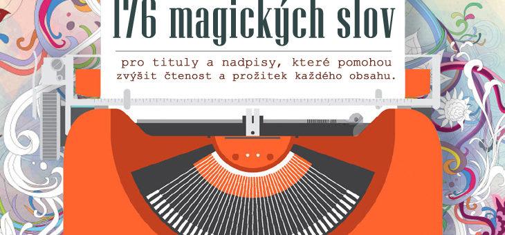 [INFOGRAFIKA] 176 magických slov a frází pro titulky a nadpisy