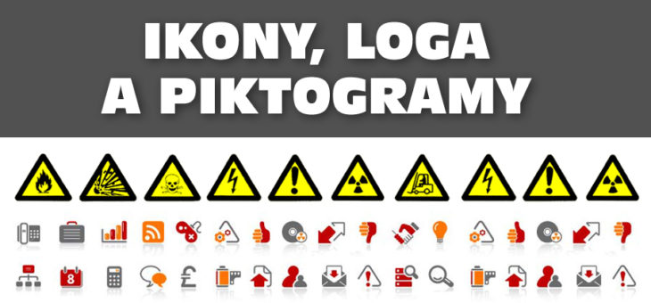 Ikony, loga, piktogramy a identifikace