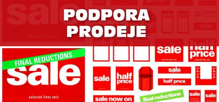 Podpora prodeje (Sales promotion)