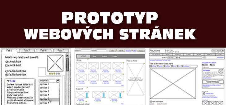 Prototyp webových stránek