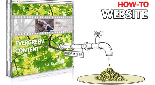 Jak vydělat peníze online pomocí Evergreen obsahu